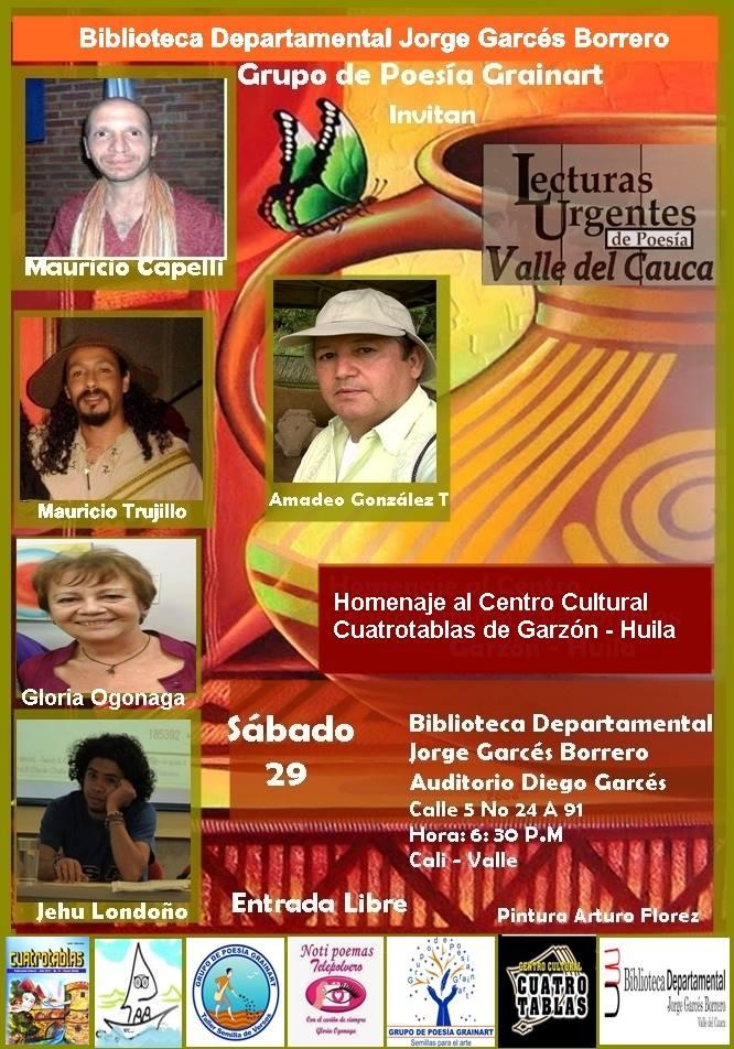 Lecturas Urgentes de Valle del Cauca.